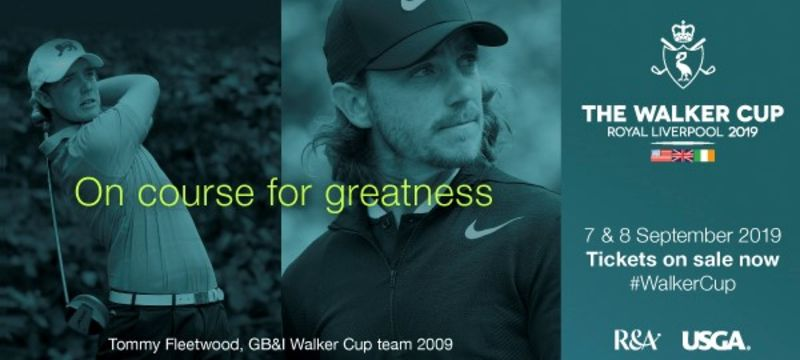The Walker Cup comes to the North West 7th & 8th September 2019
